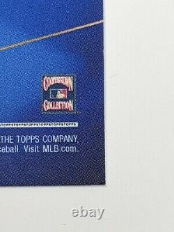 Sandy Koufax Auto /10 Ben Baller LA Dodgers 2020 World Series Topps, Orange Par