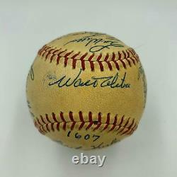 Stunning 1963 Los Angeles Dodgers World Series Champs Team Signed Baseball JSA