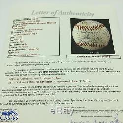 The Most Complete 1976 Cincinnati Reds World Series Champs Signed Baseball JSA