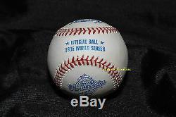 Tom Glavine Autographed Rawlings 1995 World Series Baseball Ws Mvp + Free Patch