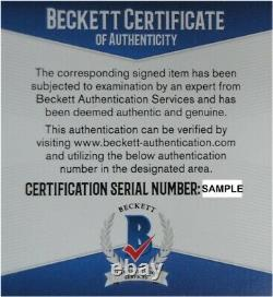 Vin Scully Signed Autographed 1988 World Series Baseball Dodgers Black Beckett