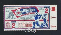 Vintage 1964 World Series New York Yankees @ Cardinals Baseball Ticket Stub G#2
