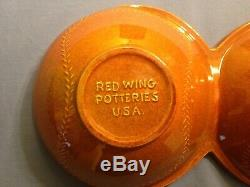 Vintage 1965 Minnesota Twins World Series Red Wing Pottery ash tray
