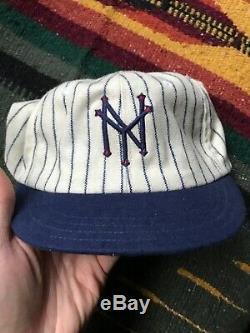 Vintage New York Giants Cooperstown Ballcap Co. Baseball Hat Cap 1924 Rare