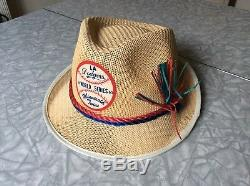 Vintage Original 1965 Baseball World Series Hat La Dodgers & Minnesota Twins