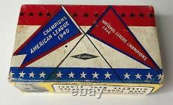 Vtg Gillette Tech Razor World Series Special 1940 Baseball Original Case RARE