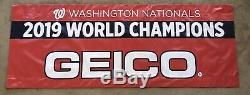Washington Nationals 2019 World Series Championship Parade Banner 3 Ft. X 8 Ft