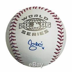 Yadier Molina St Louis Cardinals Autographed 2006 World Series Baseball JSA COA