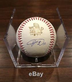 Yulieski Gurriel Autographed 2017 World Series Baseball Houston Astros Beckett